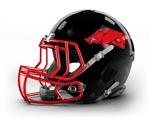Triangle Razorbacks Helmet