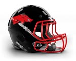 Triangle Razorbacks Helmet