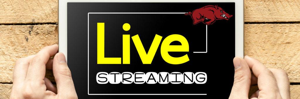 Razorbacks sender live