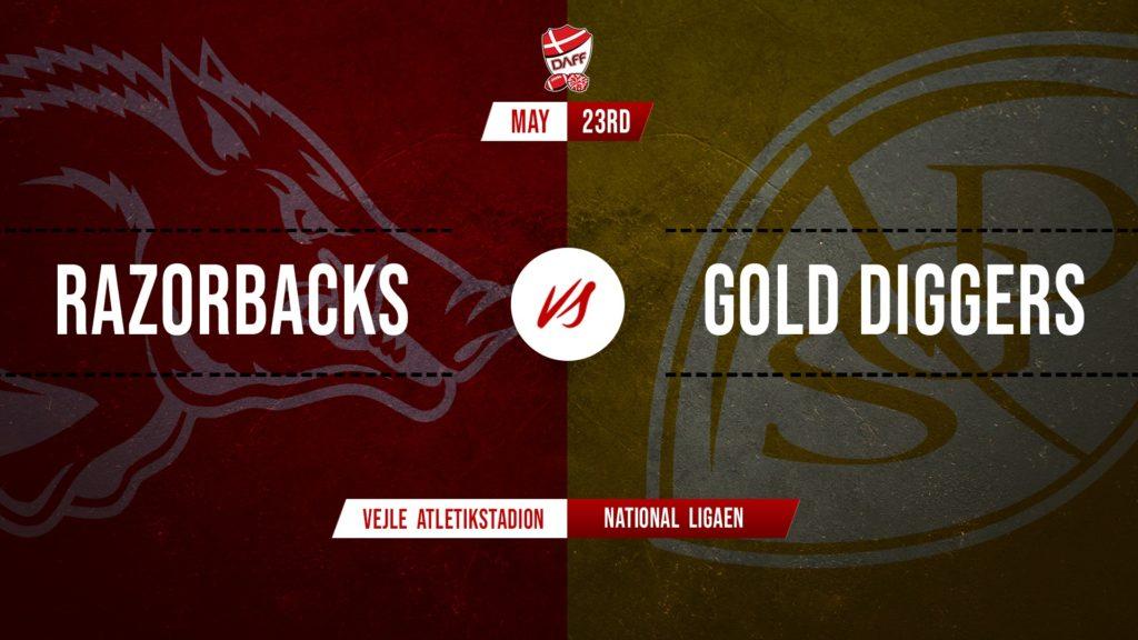 2020 NL - Triangle Razorbacks vs. Søllerød Gold Diggers