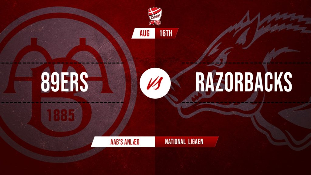 Triangle Razorbacks @ AaB 89'ers