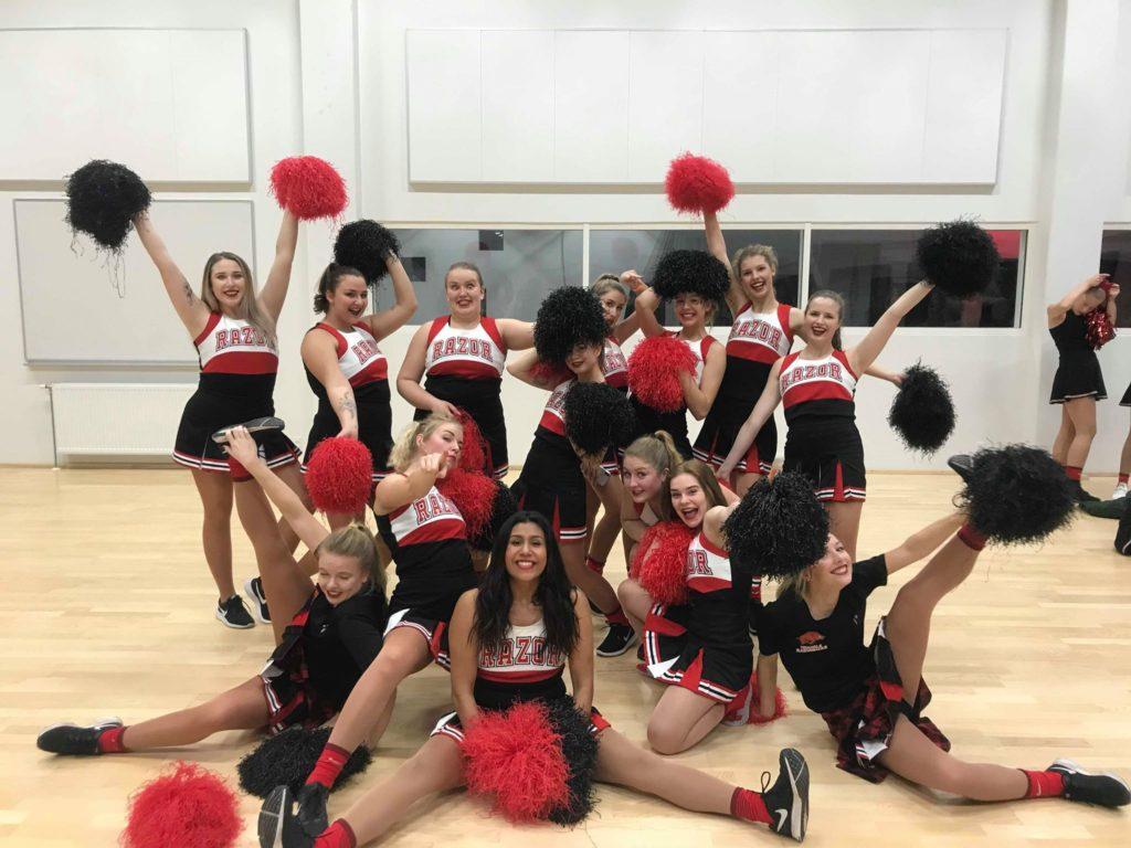 Cheerlead sæsonafslutning
